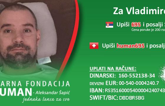 BUDI HUMAN za Vladimira Đuričića