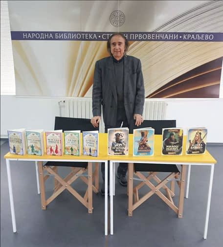 Predstavljanje istorijskih knjiga