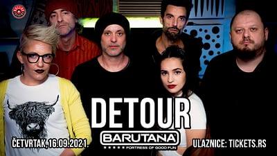 Elektro-akustična pop-atrakcija Detour u Beogradu!