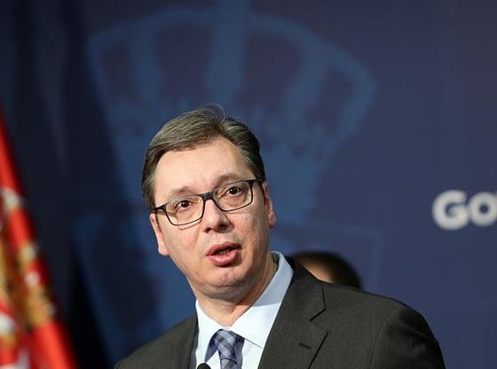 Predsednik Republike Srbije Aleksandar Vučić Podignuta borbena gotovost Vucic- Srbija-mirna-i-stabilna
