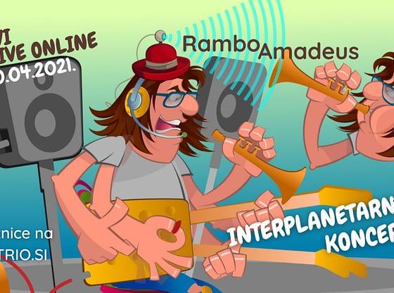 Rambo Amadeus & Five Winnetous održaće 'Interplanetarni Koncert'