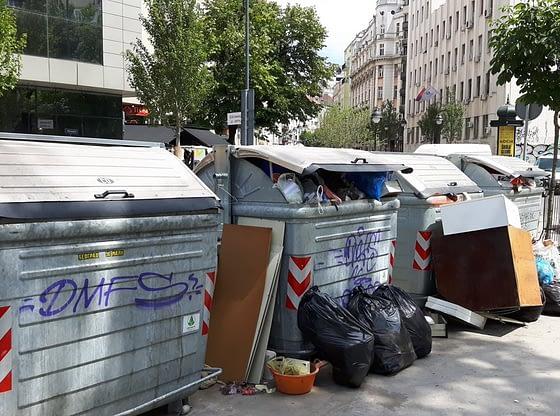 Promena tehnologije odnošenja otpada